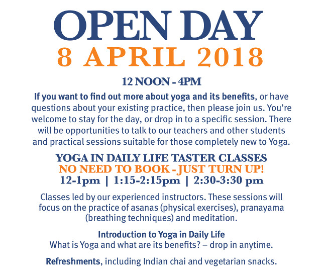 2018 Spring open day